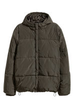 Padded jacket - Khaki green -  | H&M GB 2