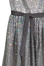 Sequined dress - Dark grey - Kids | H&M CN 2