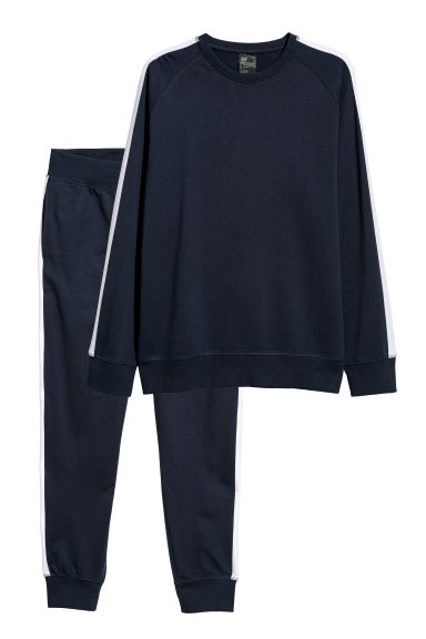 Pyjamas - Dark blue -  | H&M