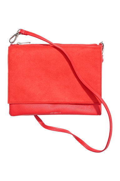 Small shoulder bag - Bright red -  | H&M CN