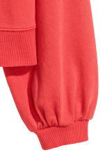 Sweatshirt - Bright red - Ladies | H&M CN 3