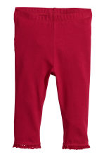 Lot de 2 leggings - Rouge - ENFANT | H&M FR 3