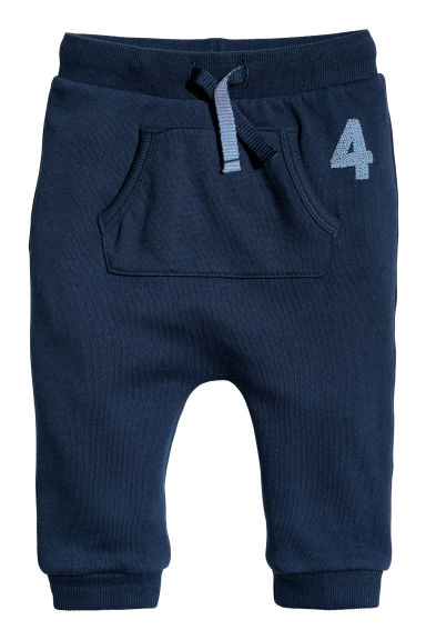 Joggers - Dark blue/4 - Kids | H&M CN