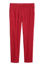 Suit trousers - Red - Ladies | H&M 2