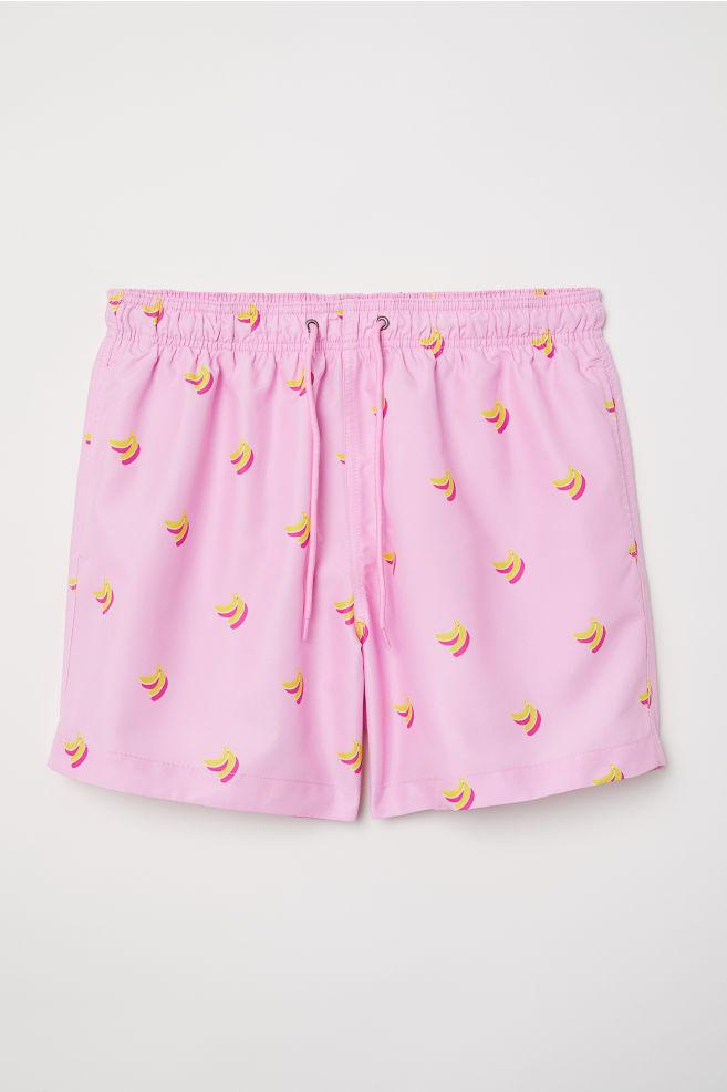 Costume da bagno - Rosa/banane - UOMO | H&M IT