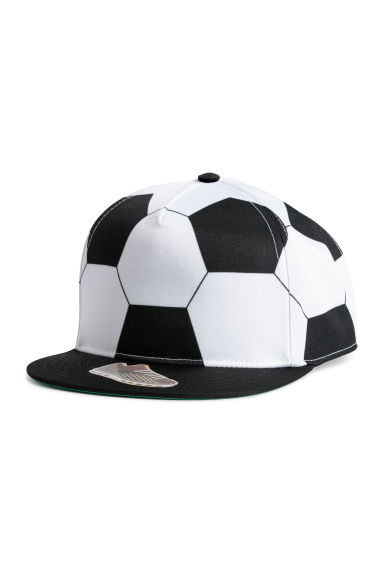 Patterned cap - Black/Football - Kids | H&M CN