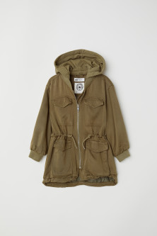 Parka in viscosa