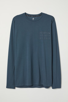 Long-sleeved Sports Shirt