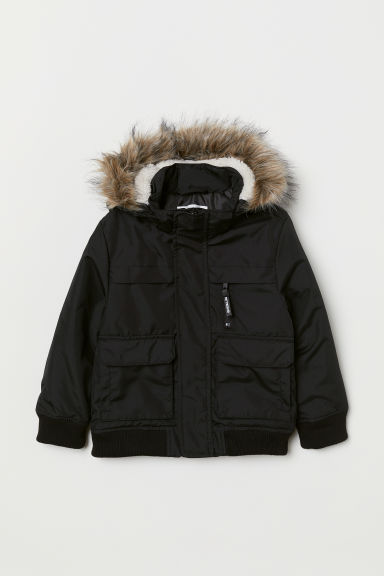 Padded jacket - Black - Kids | H&M GB