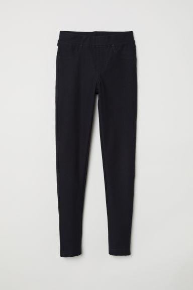Jersey leggings - Black - Kids | H&M GB