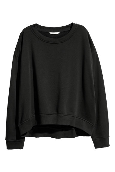 Sweatshirt - Black -  | H&M GB