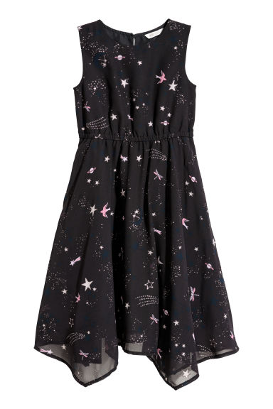 Sleeveless dress - Dark blue/Stars -  | H&M