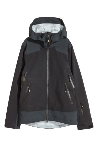 Shell ski jacket - Black -  | H&M