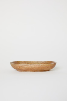 Small Wooden Serving Dish
