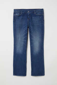 H&M+ Bootcut Regular Jeans