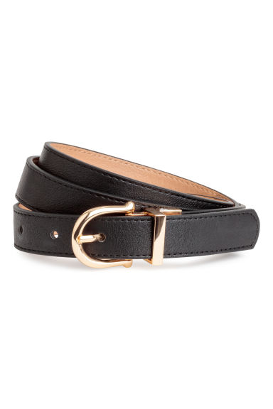 Reversible belt - Black/Beige - Ladies | H&M GB