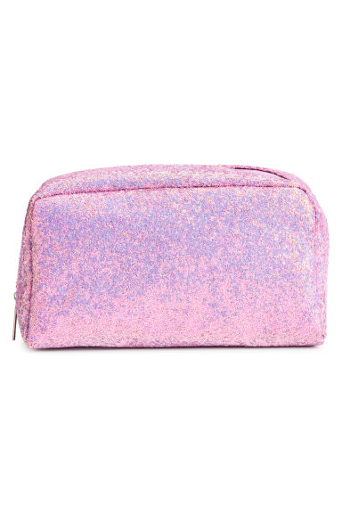 Shimmering make-up bag - Pink/Glitter -  | H&M IE