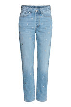 Vintage High Jeans - Azul denim claro/Remaches - MUJER | H&M ES 3