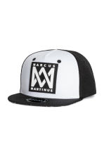 Cap with appliqué - Black/Marcus & Martinus - Kids | H&M 1