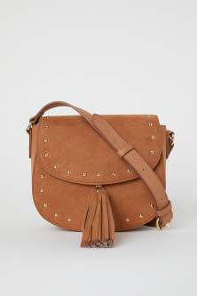 Small Shoulder Bag with Tassel