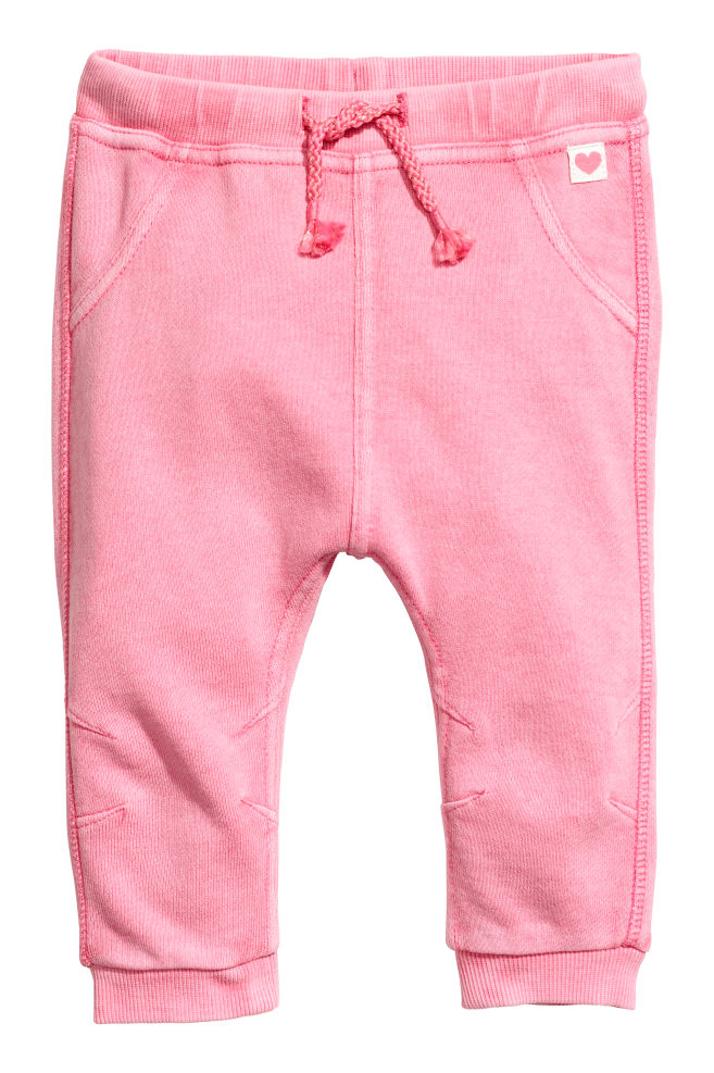 Biker joggers - Pink washed out - Kids | H&M GB