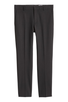Wool suit trousers Skinny fit