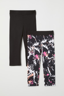 Leggings de desporto, pack-2