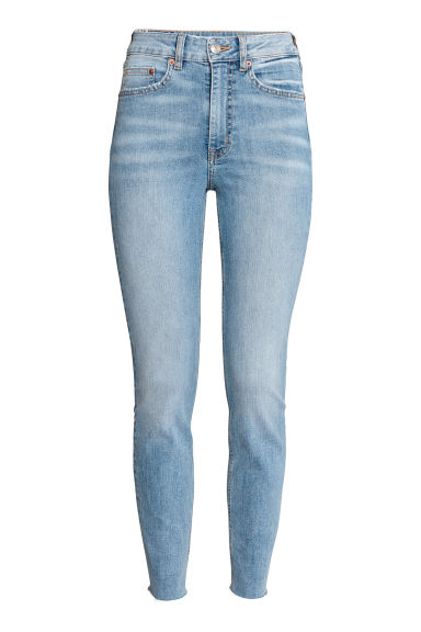Slim Mom Jeans - Light denim blue -  | H&M IE