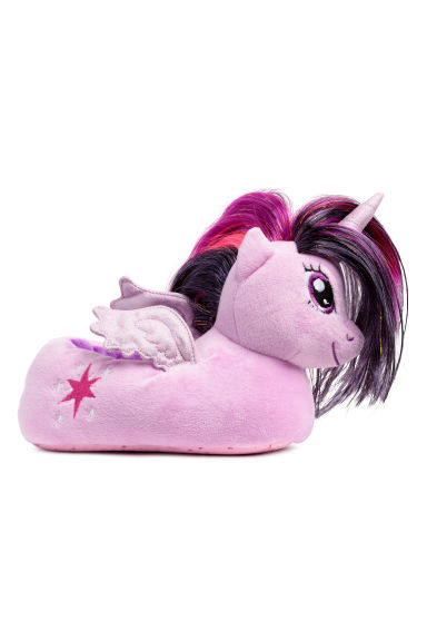 Soft slippers - Light purple/My Little Pony - Kids | H&M CN