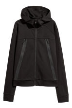 Outdoor jacket with a hood - Black - Ladies | H&M 1