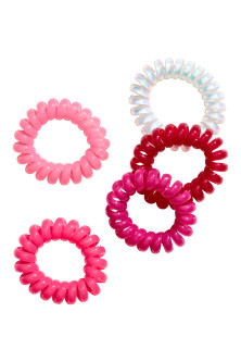 5-pack mini hair elastics
