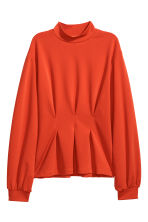 Jersey top - Bright red - Ladies | H&M IE 2