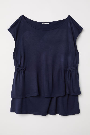 MAMA Nursing top - Dark blue - Ladies | H&M CN