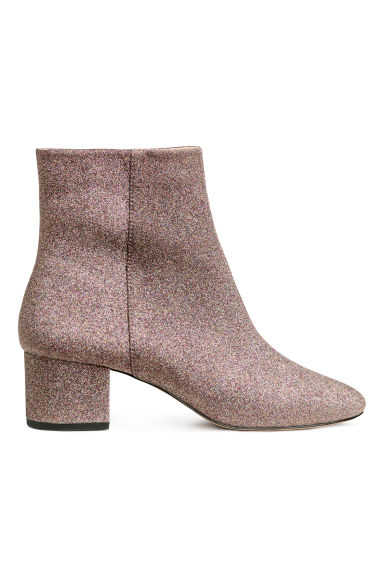Ankle boots - Glitter - Ladies | H&M