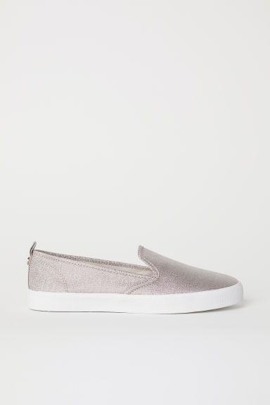 Slip-on sneakers - Roségoudkleurig -  | H&M BE