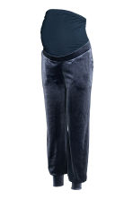 MAMA Velour joggers - Pigeon blue - Ladies | H&M CN 1