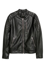 Biker jacket - Black -  | H&M IE 2