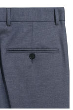 Wool suit trousers Slim fit - Deep blue - Men | H&M IE 3