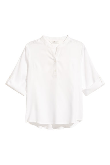 Viscose blouse - White - Kids | H&M