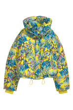 Padded jacket - Neon yellow/Patterned - Ladies | H&M 3