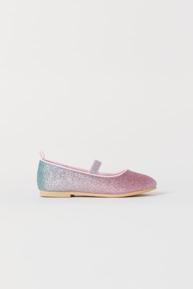 Glittery ballet pumps - Pink/My Little Pony - Kids | H&M CN