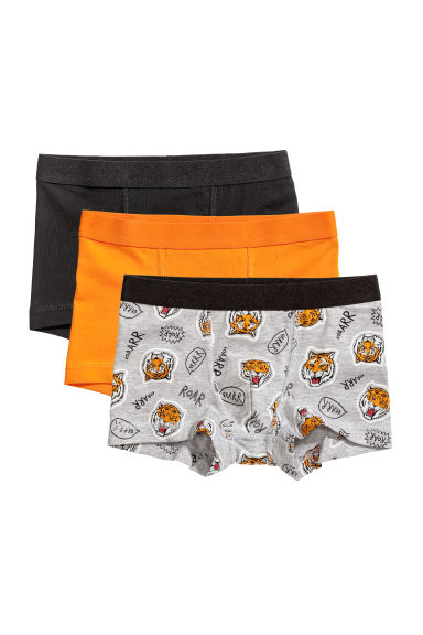 Lot de 3 boxers - Orange/tigre -  | H&M CH 1