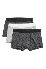 3-pack trunks - Dark grey - Men | H&M GB 2