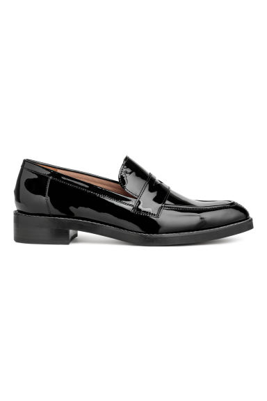 Leather loafers - Black - Ladies | H&M GB 1