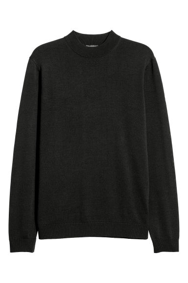 Pullover in misto merinos - Nero -  | H&M IT