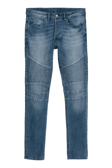 Bikerjeans - Denimblauw - HEREN | H&M BE