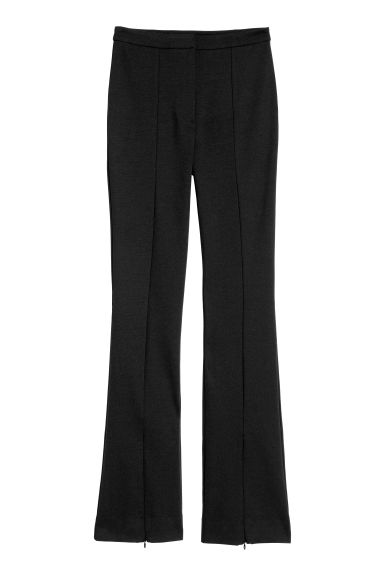 Flared trousers Model
