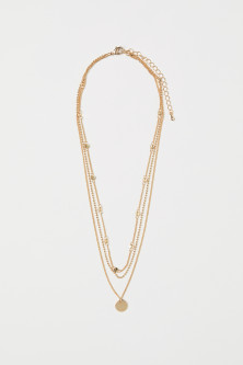 Triple-strand Necklace