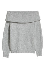 Jumper - Grey marl - Ladies | H&M CN 2