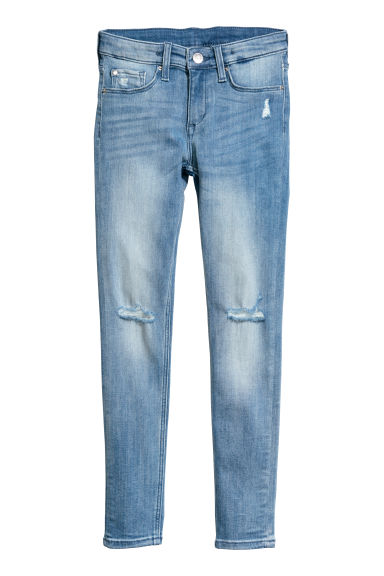 Superstretch Skinny Fit Jeans - Azul denim - CRIANÇA | H&M PT